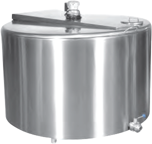 SS Milk Can